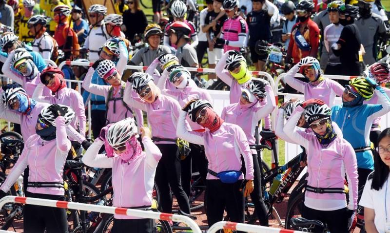 2017 Tour de DMZ 자전거퍼레이드 (2)