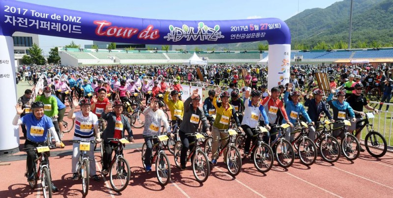 2017 Tour de DMZ 자전거퍼레이드 (5)