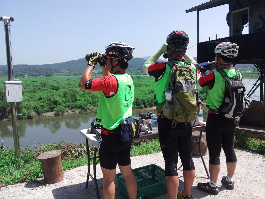 2018 DMZ 자전거투어 in 임진각 (4.29)
